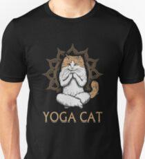 Yoga Cat Cute Pet Hobbie Unisex T-Shirt