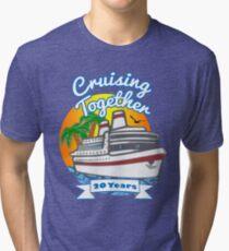 Cruising Together 20 Year Celebration Cruise T Shirt Tshirt Tri-blend T-Shirt
