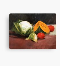 Still Life with Vegetables Canvas Print