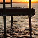 Sunset by the Dock of the Bay by KarenDinan