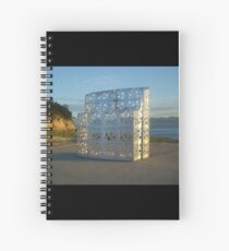 Island Sculpture Spiral Notebook