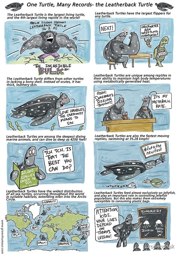 The Leatherback Sea Turtle by rohanchak