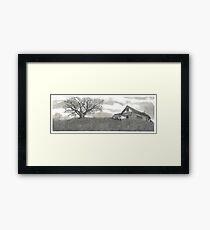 Abandoned Prairie Farmsted - www.jbjon.com Framed Print