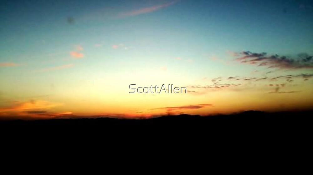 Rainbow Horizon by ScottAllen