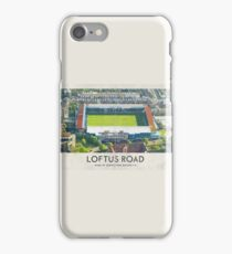 Vintage Football Grounds - Loftus Road (Queens Park Rangers FC) iPhone Case/Skin