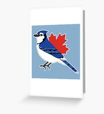 A Blue Bird Greeting Card