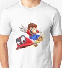 Super Mario Odyssey Cap Throw T-Shirt