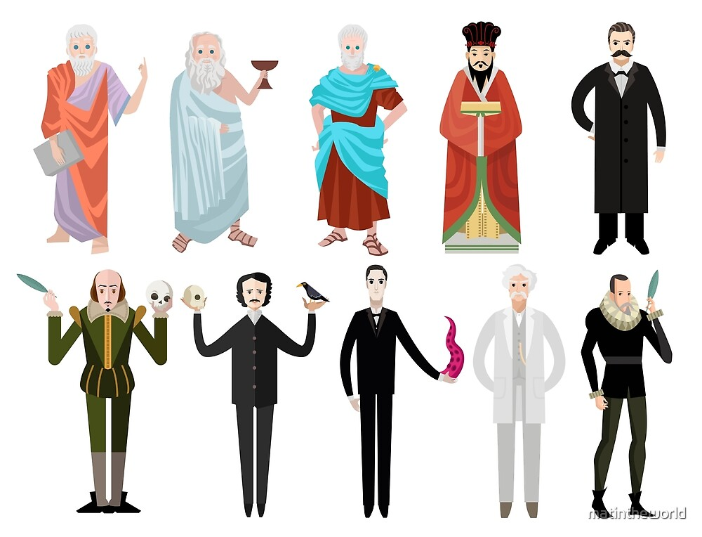 great history writers and philosophers by matintheworld