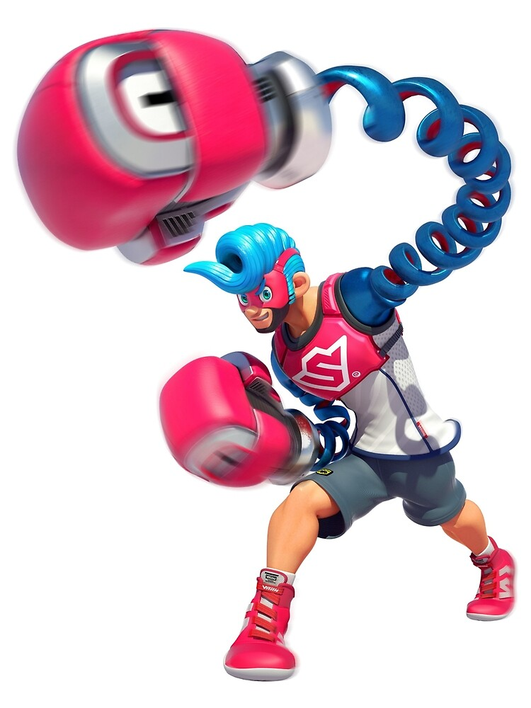 Spring Man - ARMS for Nintendo Switch by overflag