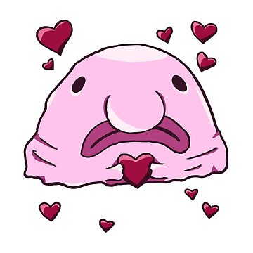Blobfish Love (Pink) by PurpelPanther