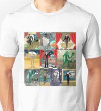 evil classic monsters spooky creatures Unisex T-Shirt
