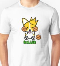 Corgi Basketball T-Shirt
