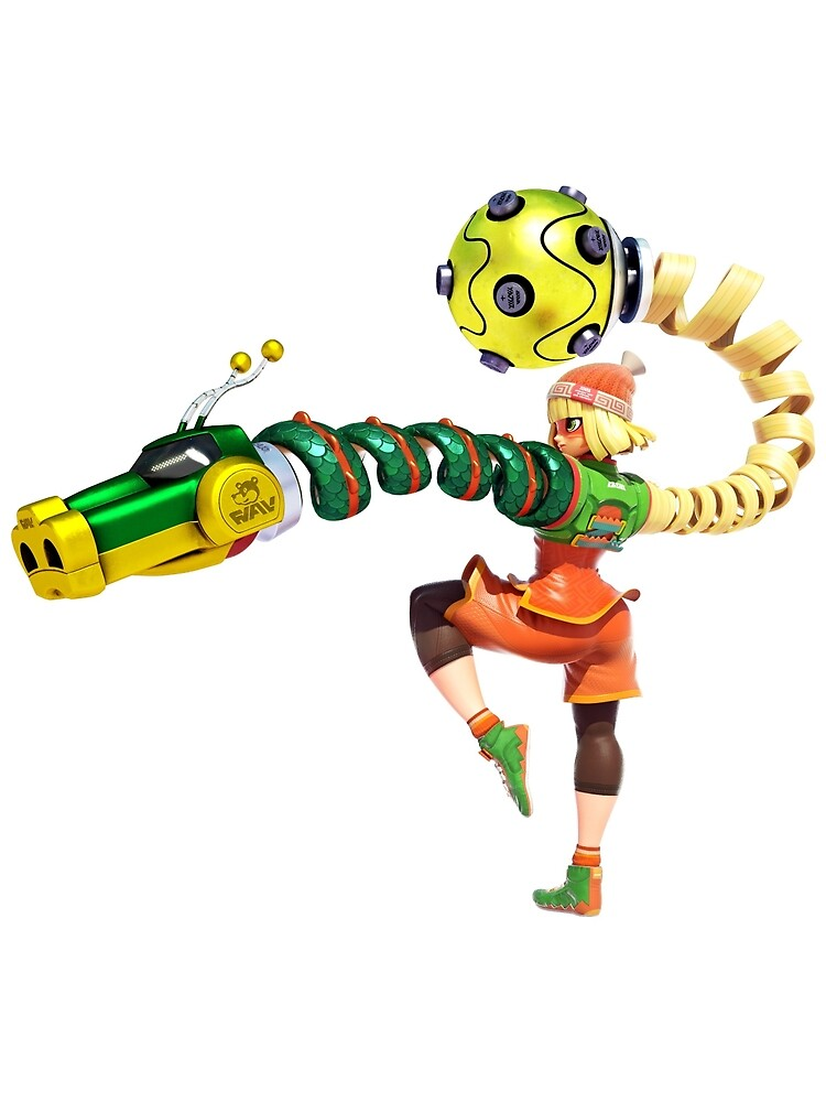 Min Min - ARMS for Nintendo Switch by overflag
