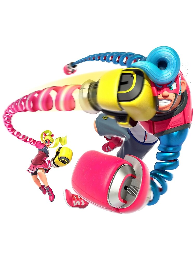 Ribbon Girl and Spring Man - ARMS for Nintendo Switch by overflag