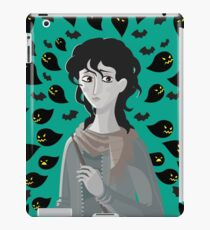 sad girl stressed anxiety bad thoughts iPad Case/Skin