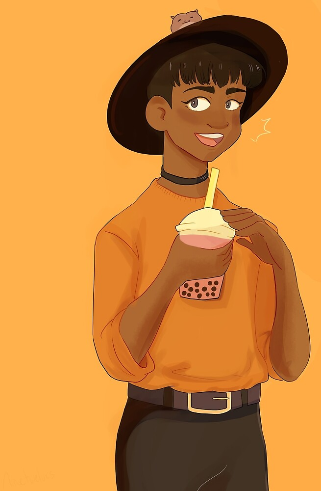 boba phichit  by itachicken