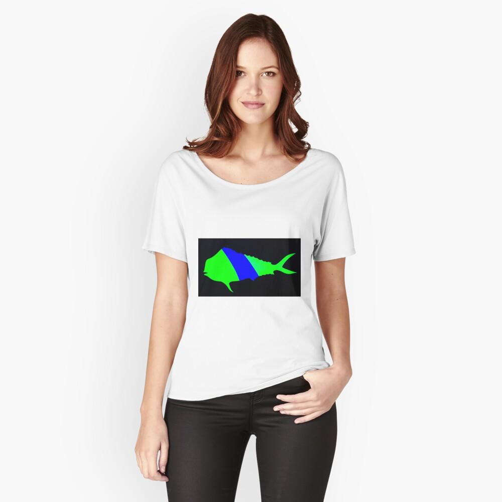 Mahi mahi  Women's Relaxed Fit T-Shirt Front