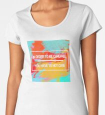 Carefree Women's Premium T-Shirt
