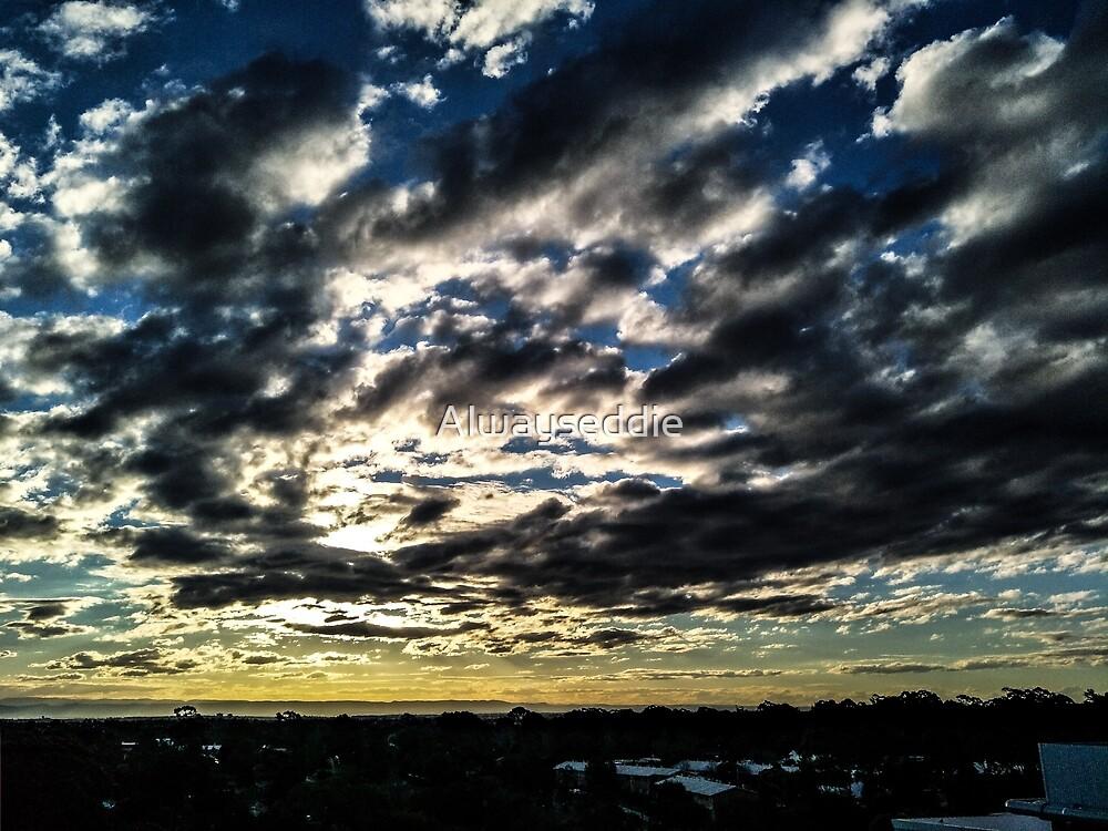 The sunset by Alwayseddie