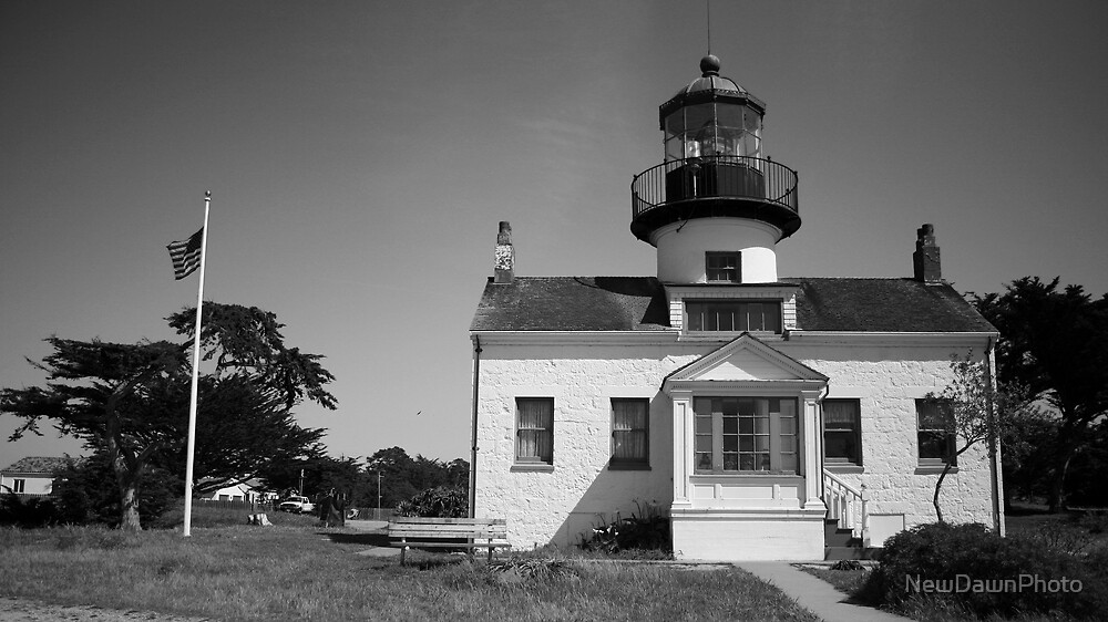 Point Pinos Lighthouse (Front) by NewDawnPhoto
