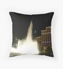 HIGH FLYING WATER Throw Pillow