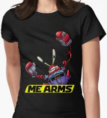 ME ARMS Womens Fitted T-Shirt