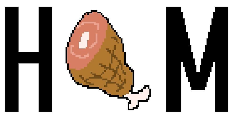 Ham by pixelbees