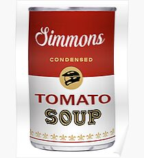Simmons Soup Poster