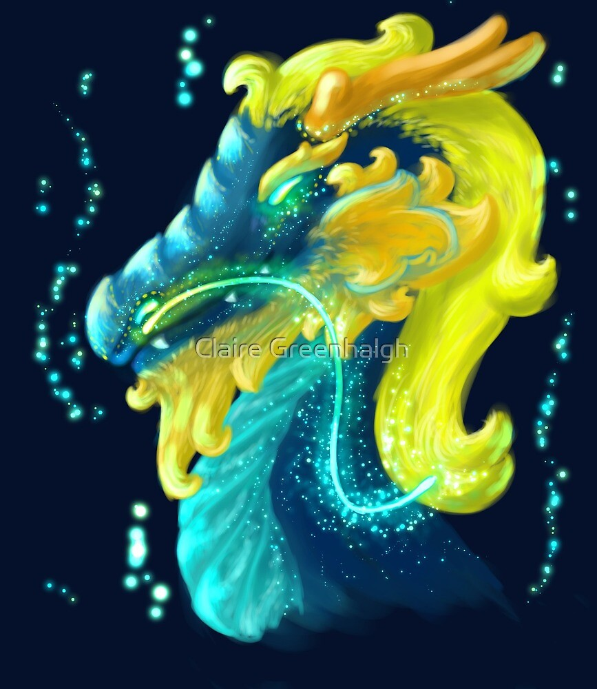 Painted Dragon by Claire Greenhalgh