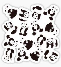 PandiCorn Wings - Pattern  Sticker
