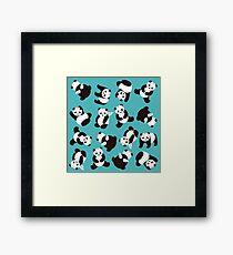 PandiCorn Wings - Pattern  Framed Print