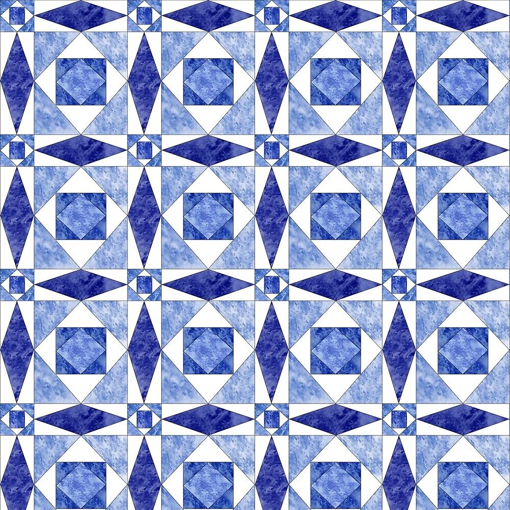 Geometric Ice Crystals by KiwiCat