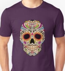 Mexican color skull Unisex T-Shirt