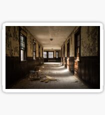 Abandoned State Hospital Sticker