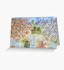 After the first rains Greeting Card