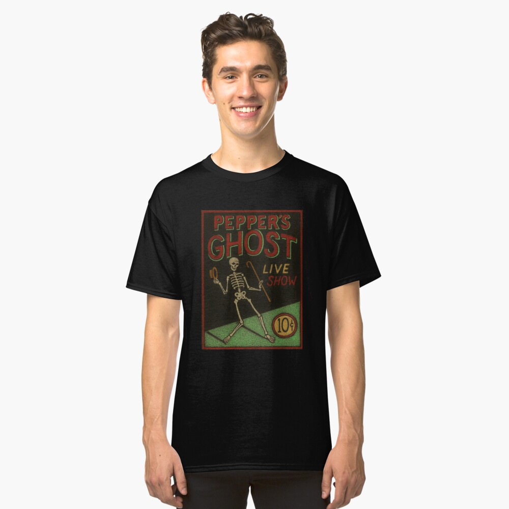 Pepper's Ghost Classic T-Shirt Front