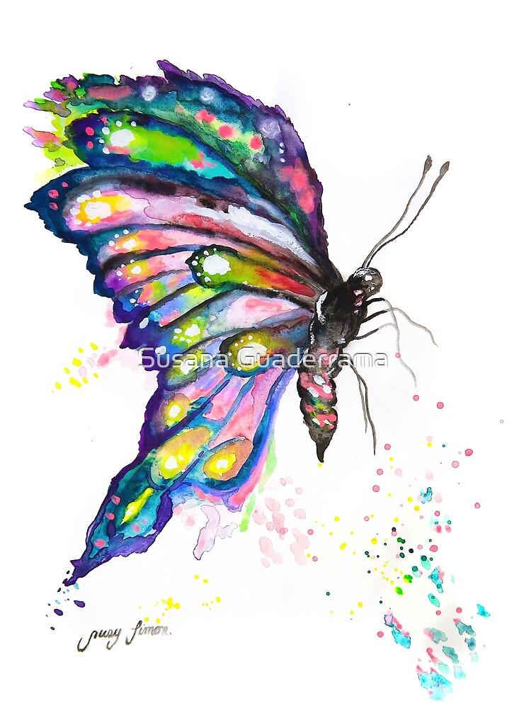 Butterfly I by Susana Guaderrama