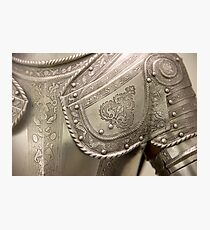 Medieval armour Photographic Print