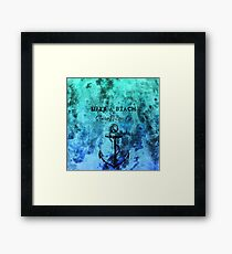 STAUNCHCORE CO. - Life's A Beach Summer Sea Edition Framed Print