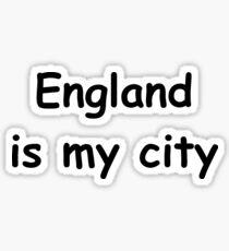 england is my city Sticker