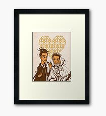 You May Kiss the Bride Framed Print