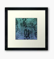 STAUNCHCORE CO. - K-Drama Fangurl 01 Blue Butterflies Edition Framed Print