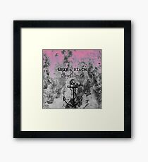 STAUNCHCORE CO. - Life's A Beach Grunge Pink Edition Framed Print