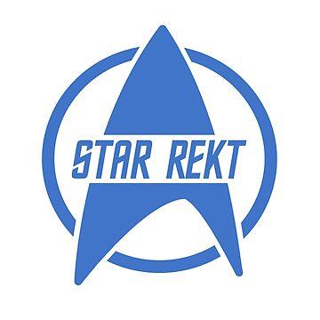 Star Rekt (Blue) by Pumpkinetics