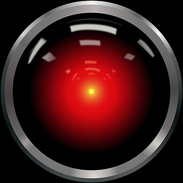 Hal 9000 by MrGreed