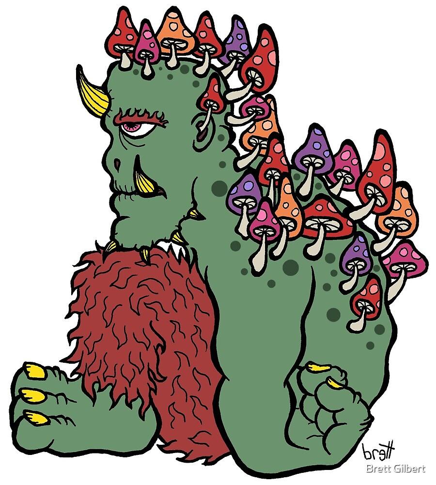 Lathargic Portabella Monster by Brett Gilbert