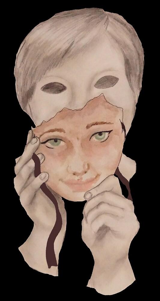 my masquerade is at home by amellarosa