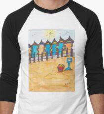 Beach fun Men's Baseball ¾ T-Shirt