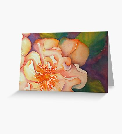 rambling rose 'for the love of flowers' © 2007 patricia vannucci  Greeting Card