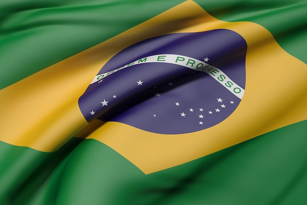 Brazil flag by erllre74
